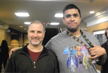 Me and Greg Weisman by Marco-the-Scorpion