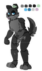 FNaF OC: Mike the Mutt~ by Beckitty