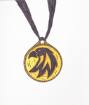 Legends of Aeluria: The Phoenix Crest Pendant V2' by DRYeisleyCreations