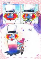 Bleck Minis: Bow Tie and Nap by PaperLillie