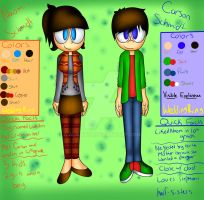 All Boro Island--Naomi and Carson Ref UPDATED v2.1 by Galaxylo