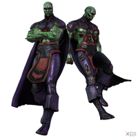 IGAU - Martian Manhunter by MrUncleBingo