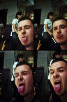 action sampler lomo TONGUE by paoly81