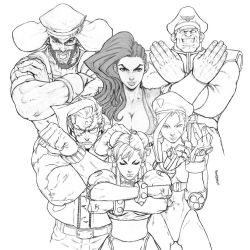 STREET FIGHTER UNLIMITED FAMILY PHOTO by Kandoken