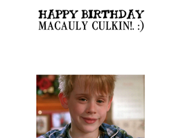 Happy Birthday Macauly Culkin! by Nolan2001