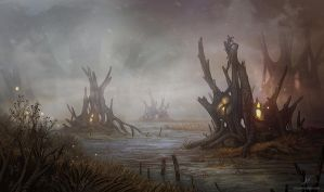 Swamp Location by AlynSpiller