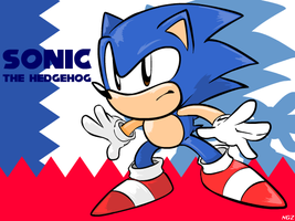 Just Ol' Sonic by NkoGnZ