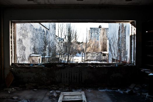 Pripyat Window View by michpix