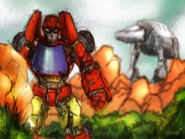 challenge of the gobots 02 by derob2511