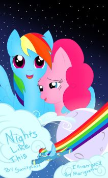 Night Like This Promotional Poster. by Marigretle