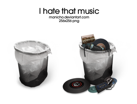 I hate that music by mauricioestrella