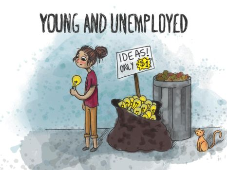 Young and unemployed ~Animated~ by tamarindojuice