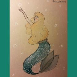 mermay day 5 by SaraCer03