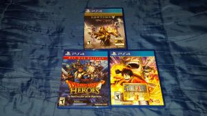 MY PS4 GAMES 2015 by HAVOC777