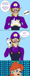 Waluigi Month Day 4 - Dreams do come true part 2! by Sekhmet17