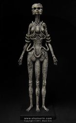 Hecate Sculpture by shainerin
