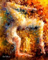 The Feeling Of Movement by Leonid Afremov by Leonidafremov