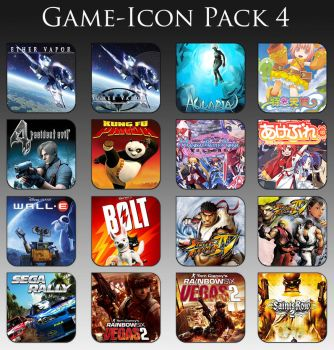 Game Aicon Pack 4 by HarryBana