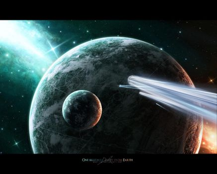 One billion ly away from Earth by paul-cz