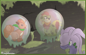 Gooped Up in Goodra's Mystery Dungeon! by Kinipharian