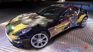 Spitfire Aston Martin One-77 by Fallout-Brony