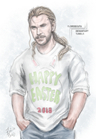 Happy Easter 2018 by FlorideCuts