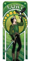 Art nouveau! Loki by StudioKawaii