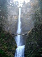 Multnomah Falls by TheCat101