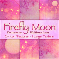 Firefly Moon Texture Set by jordannamorgan