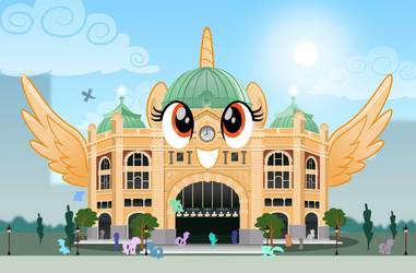 Comm: The Talking Flinders St. by jhayarr23