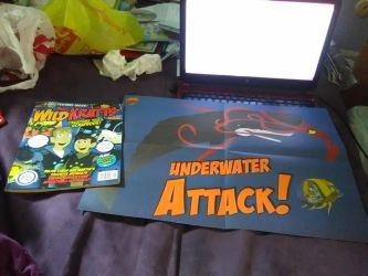 Wild Kratts bookazine and poster by Strength2727