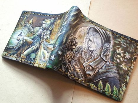Bloodborne Maria leather wallet 2 by Bubblypies