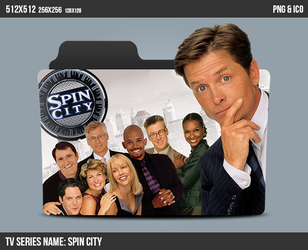 Spin City Folder ICON by kasbandi