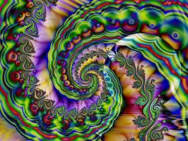 Spiral Sunset by Thelma1