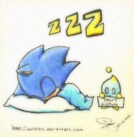 Classic Sonic dont disturb by idolnya