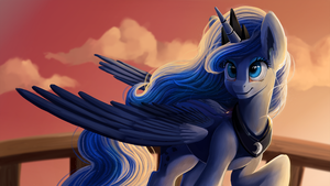 Luna's night shift by Camyllea