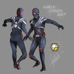 Spider-man CONCEPT Design 02 by DuckLordEthan