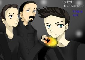 Ghost Adventures by mi-kitty555