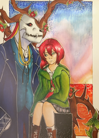 Mahoutsukai no Yome by heleniscool