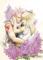Fairy Tail : Lilacs by Samy-Consu