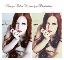Vintage Photoshop Action by LemuriaFalls
