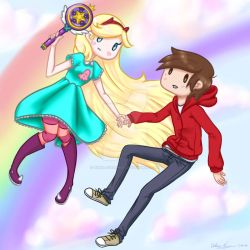 Star and Marco by Rikka-Chan666