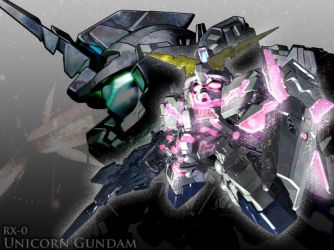 Gundam Unicorn by zerokaiser