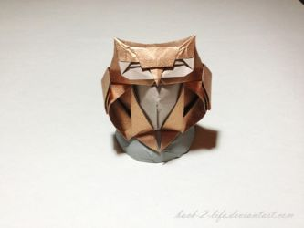 owl (origami) by Back-2-Life