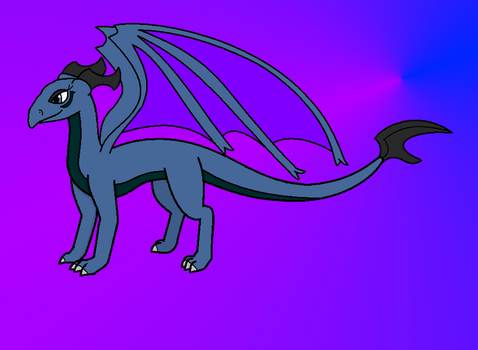 Dez as a dragon ( new version ) by BluethornWolf