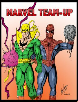 Marvel Team Up 2 by Balla-Bdog