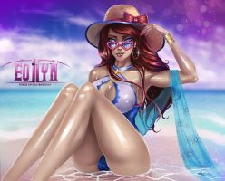 League of Legends - Miss Fortune [NSFW optional] by eollynart