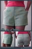 Lace Shorts by seaofwishes
