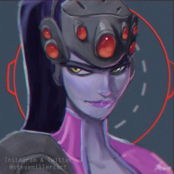 Widowmaker by SteveMillersArt