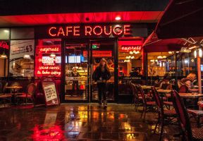 Cafe Rouge by daliscar